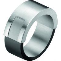 Herren Calvin Klein Edelstahl Magnet Ring Größe O