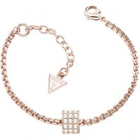 Ladies Guess Rose Gold Plated Bracelet