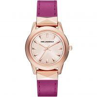 Ladies Karl Lagerfeld Labelle Stud Watch