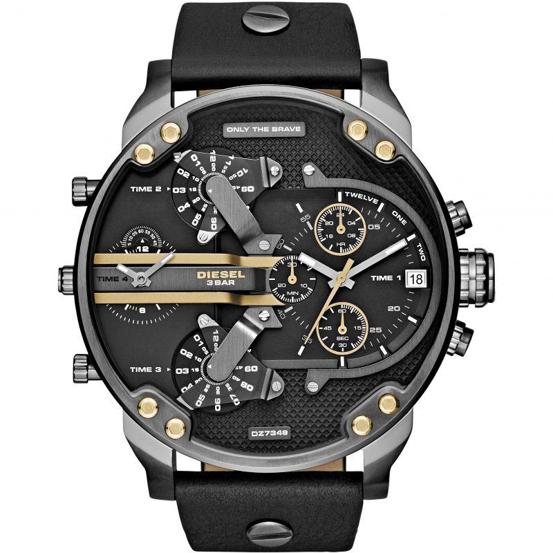 Herren Diesel The Daddies Chronograph Watch DZ7348
