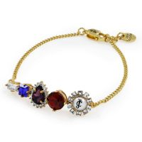Ladies Juicy Couture PVD Gold plated Bracelet WJW608-710-U