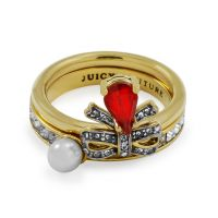Ladies Juicy Couture PVD Gold plated Ring WJW610-710-6