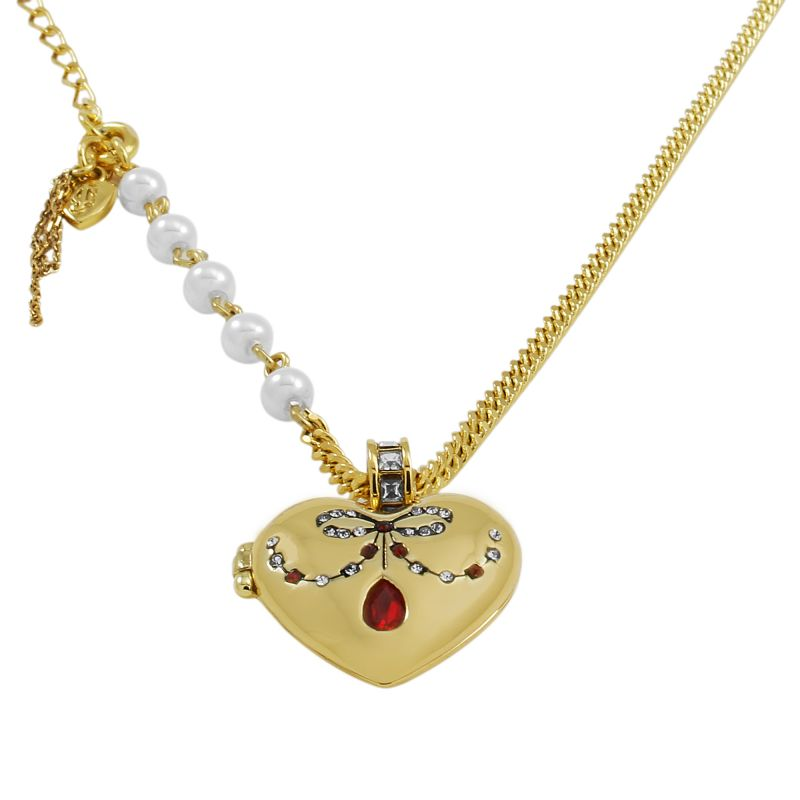 Ladies Juicy Couture PVD Gold plated Necklace WJW606-710-U