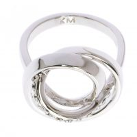 femme Karen Millen Jewellery Ring Small Watch KMJ877-01-02S