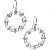 Ladies Fiorelli Sterling Silver Earrings E5075C