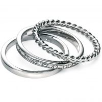 Damen Fiorelli Sterlingsilber Ring