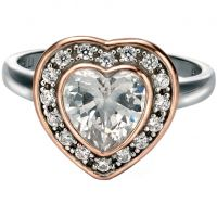 Ladies Fiorelli Sterling Silver Ring R3403CL
