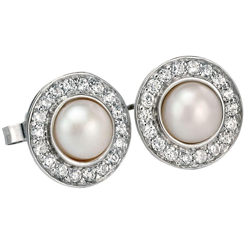 Ladies Fiorelli Sterling Silver Earrings E4873W