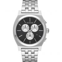Nixon The Time Teller Chrono Unisexkronograf Silver A972-2348
