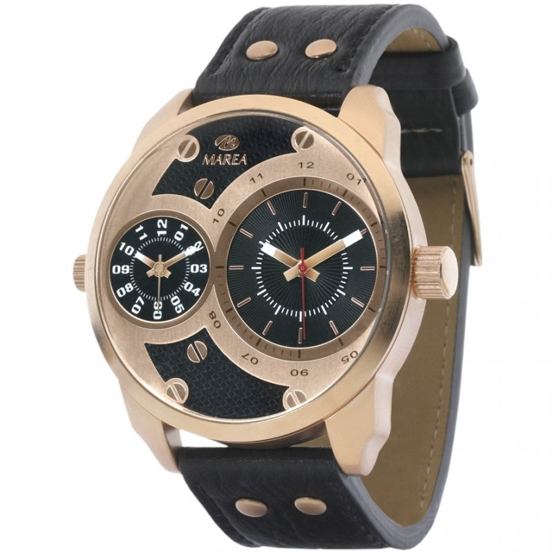 Mens Marea Dual Time Watch DUPB21158/4