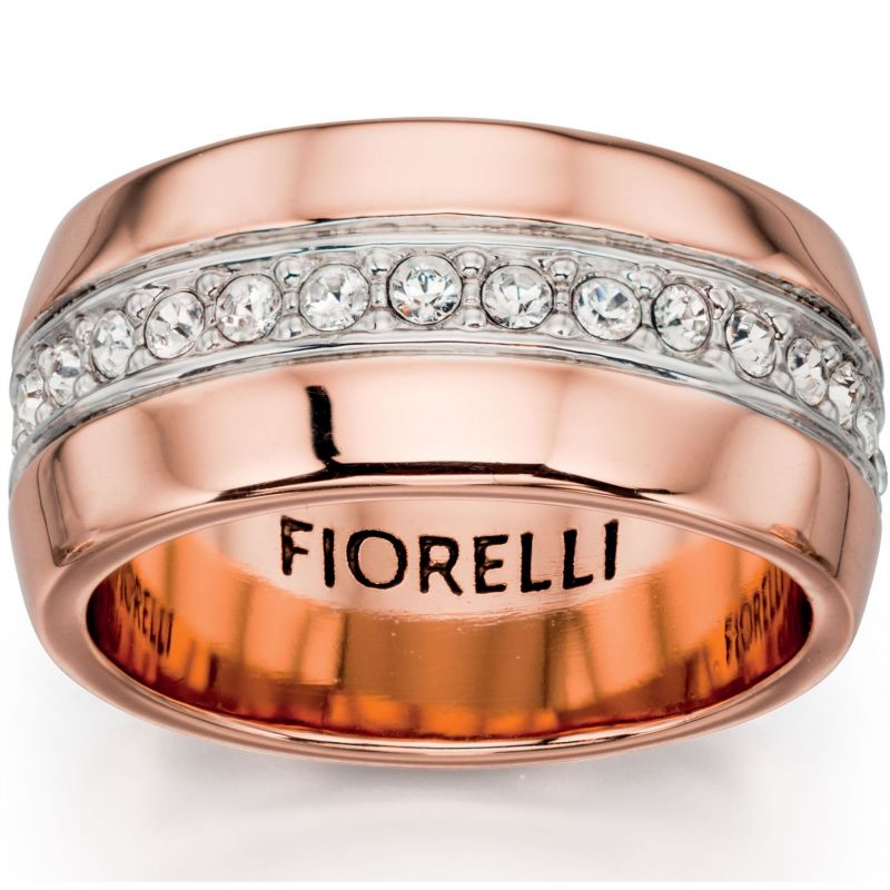 Ladies Fiorelli PVD rose plating Ring R3394S