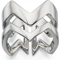 Ladies Fiorelli PVD Silver Plated Ring R3391L