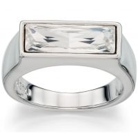 Ladies Fiorelli PVD Silver Plated 00 Ring