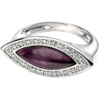 femme Fiorelli Jewellery & Amethyst Ring Watch R3356MO.5