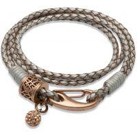 femme Unique & Co Leather Bracelet Watch B218PE/19CM