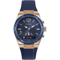 Guess Connect Bluetooth Hybrid Smartwatch Unisex horloge Blauw C0002M1