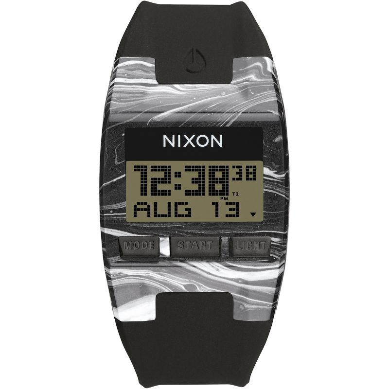 Mens Nixon The Comp S Alarm Chronograph Watch A336-2193