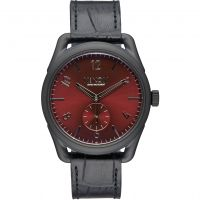 Nixon The C39 Leather Unisexklocka Svart A459-1886