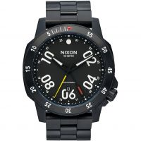 Nixon The Ranger GMT Herenhorloge Zwart A941-001