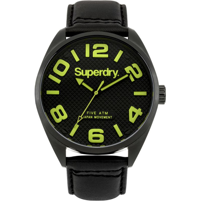 Mens Superdry MILITARY Watch SYG192BYA