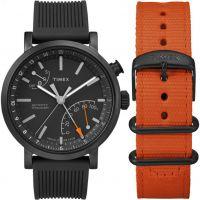 Hommes Timex Indiglo Metropolitan+ Activity Tracker Bluetooth Hybride Smartwatch Montre