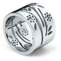 Ladies Swatch Bijoux Stainless Steel Ring Size R.5 Luludia