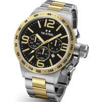 Herren TW Steel Canteen Chronograph 45mm Watch CB0043