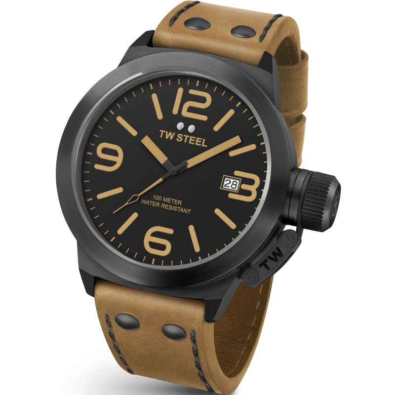 Mens TW Steel Canteen 45mm Watch CS0041
