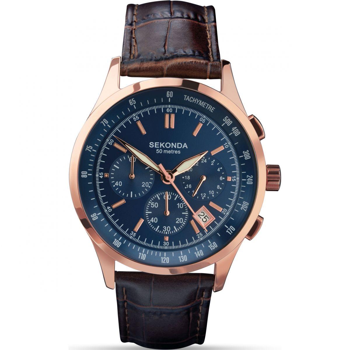 Gents sekonda chronograph watch 1157 for Sekonda watches