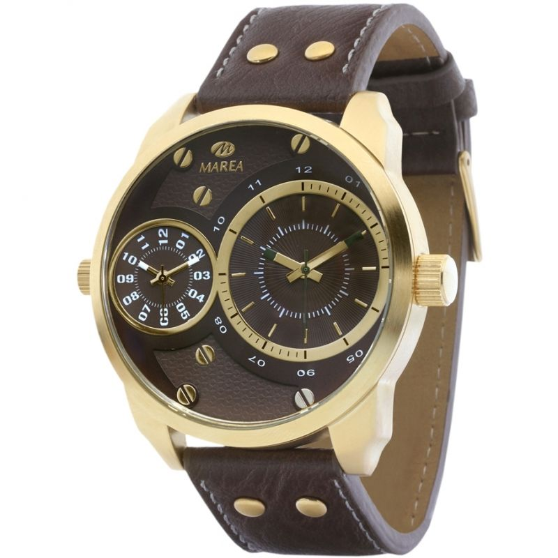 Mens Marea Dual Time Watch B21158/3