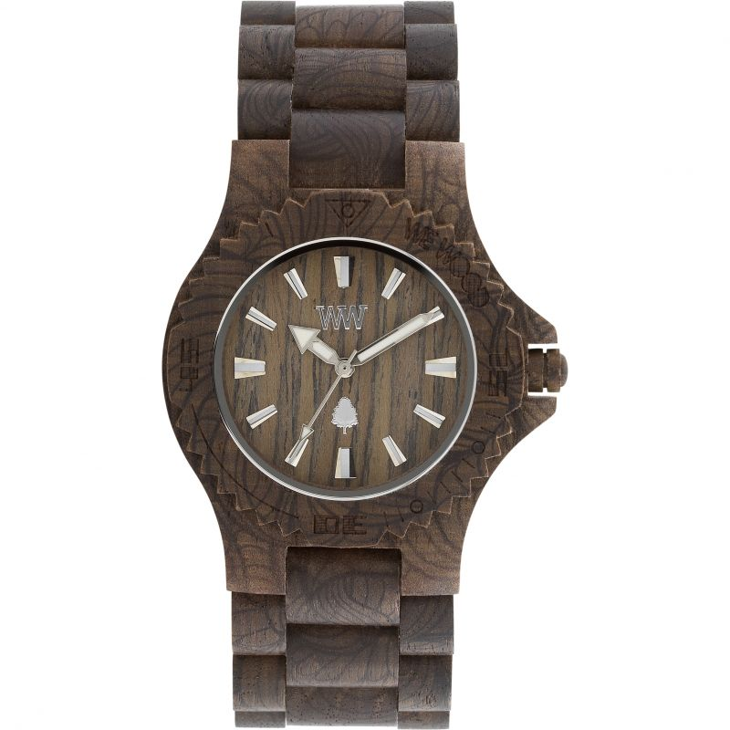 Unisex Wewood Date Damascus Nut Watch WWD-DATDAMNUT