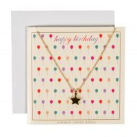 Johnny Loves Rosie Jewellery Birthday Balloon Gift Card JEWEL