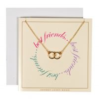 Johnny Loves Rosie Jewellery Best Friends Gift Card JEWEL