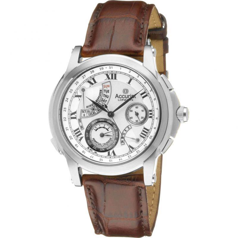 Herren Accurist GMT Watch GMT325