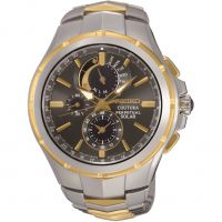 Mens Seiko Coutura Perpetual Solar Powered Watch