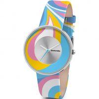 femme Lambretta Cielo Paisley Watch 2128BLU