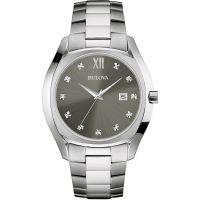 Herren Bulova Diamant Uhr