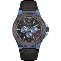 Guess Force Herrklocka Brun W0674G5
