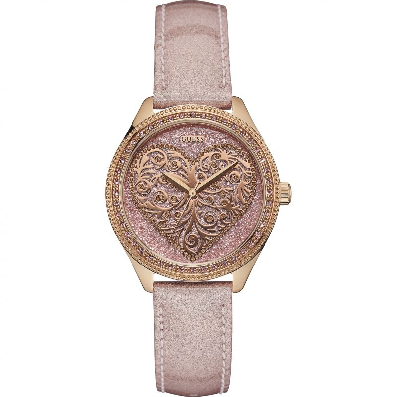 Ladies Guess Love Note Watch W0698L2