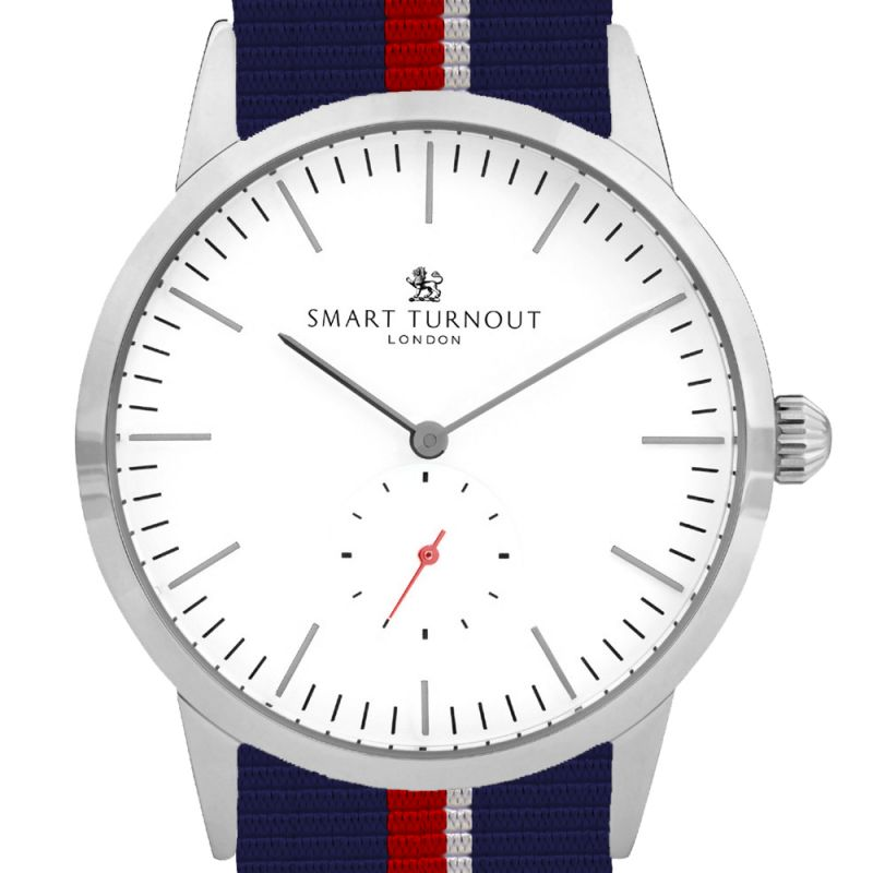 Mens Smart Turnout Signature Watch STK3/WH/56/W-RN