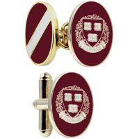 Mens Smart Turnout Cufflinks PVD Gold plated University