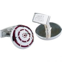 Mens Smart Turnout Cufflinks Stainless Steel University HARV/44/CRK/T