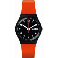 Orologio da Unisex Swatch RED GRIN GB754