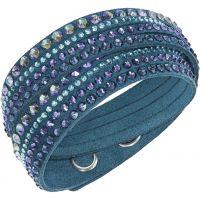 Damen Swarovski Edelstahl Slake Deluxe Armband