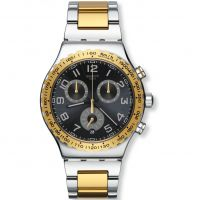 Herren Swatch golden Youth Chronograf Uhr