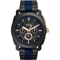 homme Fossil Machine Chronograph Watch FS5164