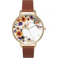 Ladies Olivia Burton Flower Show Floral Butterfly Watch