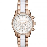 Damen Michael Kors RITZ Chronograph Watch MK6324