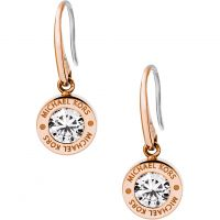 Michael Kors Dam EARRINGS PVD roséguldspläterad MKJ5339791
