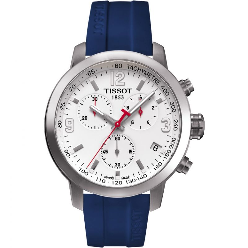 Mens Tissot PRC200 6 Nations Special Edition Chronograph Watch T0554171701701